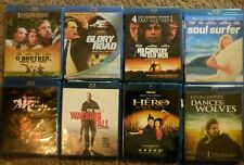 Classic New or Unmarked Blu Ray/ Dvd Movies