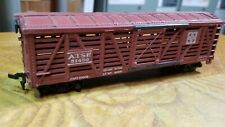 K5 Ho Train Car Atsf Santa Fe Brown Cattle Car Stockyard 51450 Horn Hook
