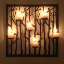 New - Partylite P91241 Woodland Candle Light Floor Stand and Sconce
