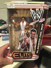 Alberto Del Rio Signed Mattel WWE Series 12 Elite Figure