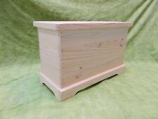 BAUL COFRE de madera maciza. 60x30x40. Modelo Long