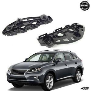 Fits 2014-2015 For Lexus RX350 RX450H Front Bumper Brackets Support Retainer Set