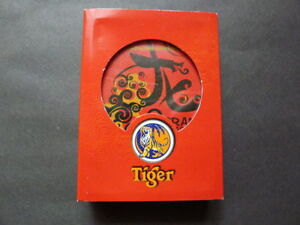 MALAYSIA Mahjong Playing Cards TIGER BEER Chinese New Year 2012 Celebrate Sealed