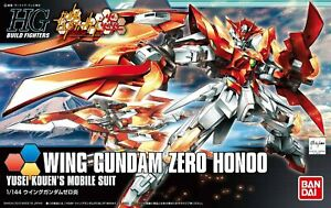 Bandai Build Fighters HGBF Wing Gundam Zero Flame Honoo HG 1/144 Model Kit USA