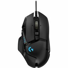 Logitech G502 Hero RGB 16000 DPI Wired USB Gaming Optical Mouse Black