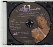 (GQ90) Alexis Houston, Speak Love sampler - DJ CD