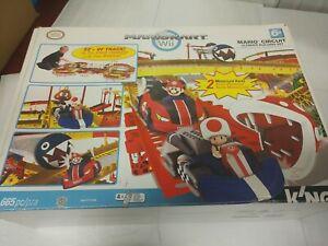 "K'nex Mario kart wii mario circuit ultimate building set knex INCOMPLETE ""AS IS"""