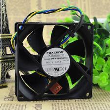 FOXCONN PVA080G12Q Fan 80*80*25mm 8025 DC 12V 0.65A 80x80x25mm 4Pin