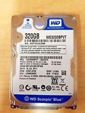 """Western Digital Scorpio Blue 320GB Internal 5400RPM 2.5"""" (WD3200BPVT) HDD"""