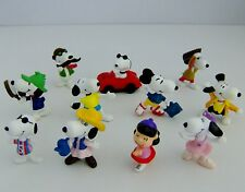 Peanuts Snoopy Lucy Mixed Figures Bundle