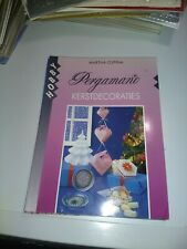 CRAFT BOOK FOR MAKE CARDS LANGUAGE DUTCH PERGAMANO KERSTDECORATIES