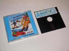 Atari 48k DISK ~ Winter Events by Anco ~ Atari 400/800/600XL/800XL/130XE/65XE