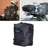 10L Motorcycle Tail Bag Storage Bag Shoulder Bag w/ Shoulder Straps Universal