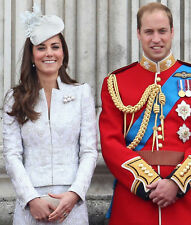 Catherine, Duchess of Cambridge & Prince William UNSIGNED photo - H5857