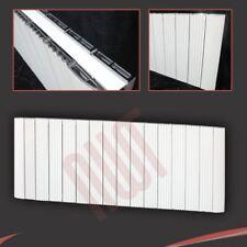 "1500mm(w) x 500mm(h) ""Cariad"" Horizontal White Aluminium Radiator - 6845 BTUs"