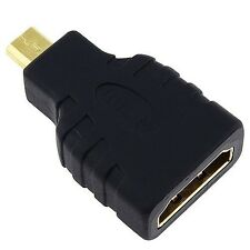 Alta Velocità Micro HDMI (Tipo D) a HDMI (Tipo A) - Adattatore per la connessione Sony...
