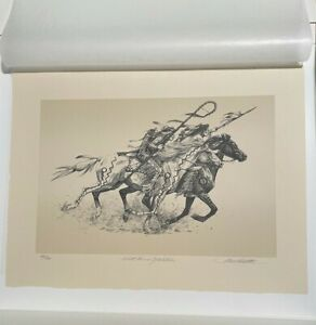 """Bev Doolittle """"With Forces of Nature"""" Stone Lithograph"""