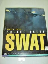 """Daryl Gates' Police Quest: SWAT (PC 1995/ 4 CDs / Rated """"T/Teen"""") by Sierra"""