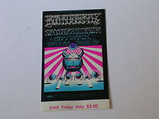 BG141 IRON BUTTERFLY Psychedelic FILLMORE TICKET by RICK GRIFFIN