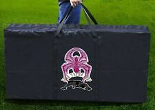 """Cornhole Board Carrying Case Bag Tote Bag 48.5"""" x 24.5"""" With Spider Printing"""