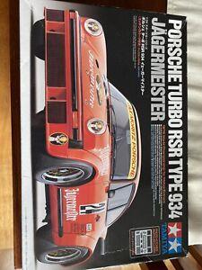 Tamiya Porsche RSR 934 Jagermeister Cars - Orange