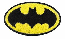 "DC Comics Superhero 4.5"" Batman Logo Chenille Embroidered Iron-On Patch P-DC 32"