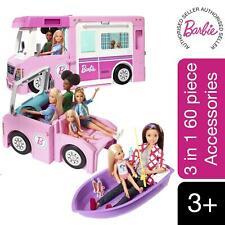 More details for barbie 3-in-1 dreamcamper vehicle