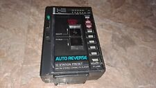 Rare Toshiba Am/Fm Stereo Walkman Cassette Tape Player Kt-4065 - As-Is / Parts