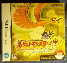 Pokemon Heart Gold with PokeWalker Japanese Version US Seller