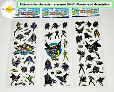 BATMAN STICKERS LOLLY BAG FAVOURS, PARTY PRIZES *SPECIAL OFFER* BUY 5 GET 5 FREE