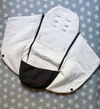 Graco Evo XT Luxury Wrap Fleece Cosy Toe Footmuff Sleeping Bag in Black