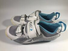Women's Louis Garneau Trispeed Ergo Air Cycling Shoes Womens Size 6.5 US