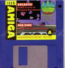 The One Amiga-Magazine coverdisk A-juillet 1992-Zone Rouge < MQ >