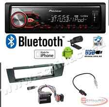 Pioneer MVH-390BT autoradio USB / bluetooth + Kit montaggio per BMW Serie 1