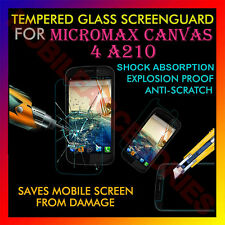 ACM-TEMPERED GLASS SCREENGUARD for MICROMAX CANVAS 4 A210 ANTI-SCRATCH PROTECTOR