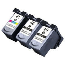 3Pack PG-40 CL-41 Ink Cartridges For Canon PIXMA IP1200 IP1300 IP1600 Printer