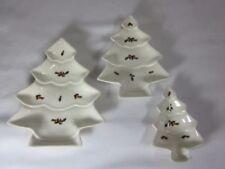 Decorazioni natalizie piatti in ceramica per la tavola, tema natale