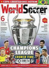 WORLD SOCCER- March 2021 issue (NEW) *Post included to UK/EU