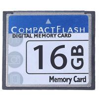 Professional Scheda Di Memoria Compact Flash Da 16 Gb (Bianco E Blu) E9F1
