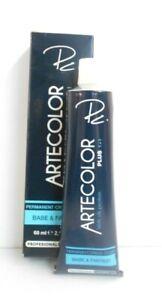 PC. ARTECOLOR BASE & FANTASY ~ PERMANENT SILK PROTEIN ~ CREAM HAIR COLOR ~ 2.11!