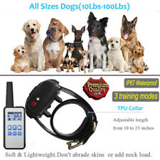 Remote Control Dog Training Collar Rechargeable Waterproof Electronic Collar