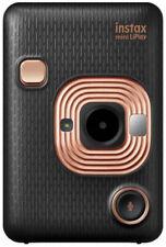 Fujifilm Instax Mini LiPlay Hybrid Instant Camera , Elegant Black, Brand New