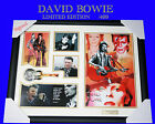 DAVID BOWIE MUSIC MEMORABILIA SIGNED FRAMED LIMITED EDITION to 499 w/ COA