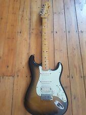 JV squier Fender Stratocaster Japón logotipo grande