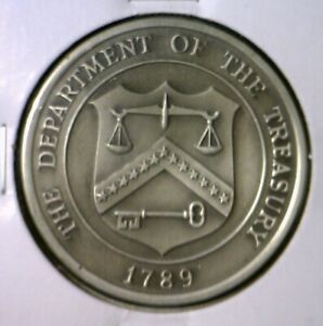 US Department of The Treasury PEWTER CH BU Coin from 1776 Revolution War sets NR