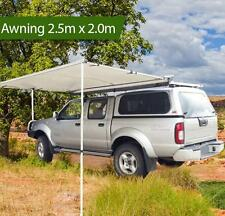 2.5M 4X4 SIDE Car Side Awning CAMPING CAR RACK Pull Out ROOF TOP TENT CAMPER