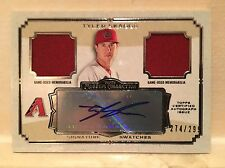 2013 Topps Museum Collection Tyler Skaggs Signature Swatches Dual Relic 274/299