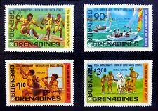 Grenada Grenadines 1982 Scouts (4) SG483/6 U/M FP8371