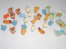 Ü-Ei Figuren Konvolut Spielzeug 23 x Tierische Wasserspeier Kinder Zoo Nr.1c