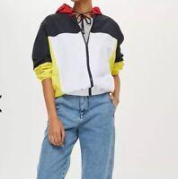 Topshop Topshop PETITE Windbreaker Jacket Size L RRP£39 {R26}